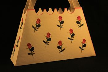 Mod le de sac main faire soi m me en carton ou en papier - Sac en tricot a faire soi meme ...